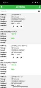 gps vehicle list